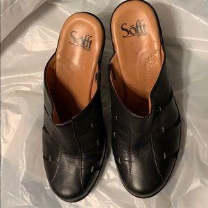 Sofft CLog Black size 8